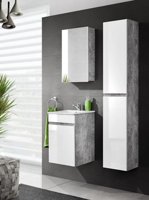 Set Mobilier pentru baie, 4 piese, Atelier