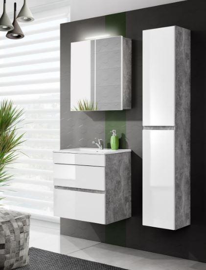 Set Mobilier pentru baie, 4 piese, Atelier XL