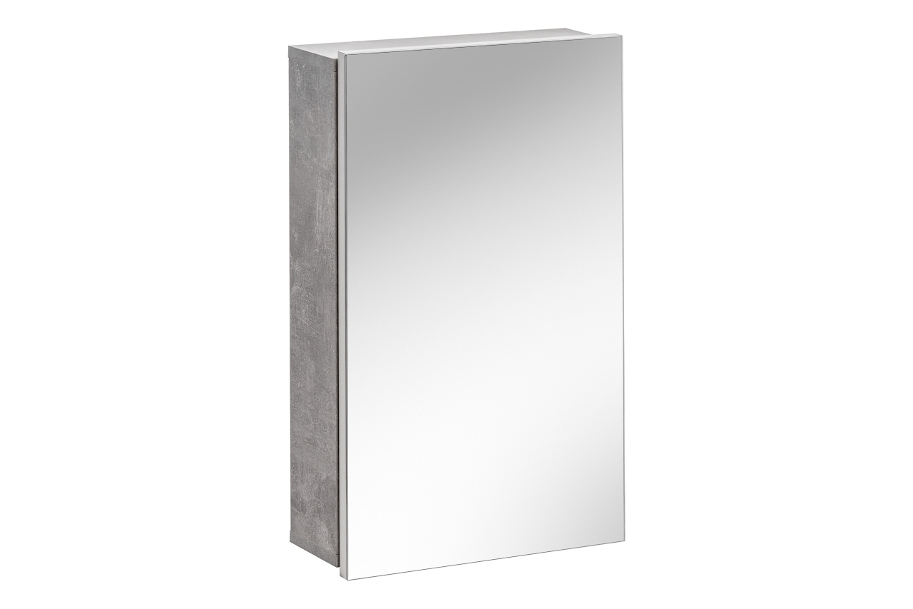 Dulap baie suspendat cu 1 usa si oglinda Atelier l40xA15xH65 cm