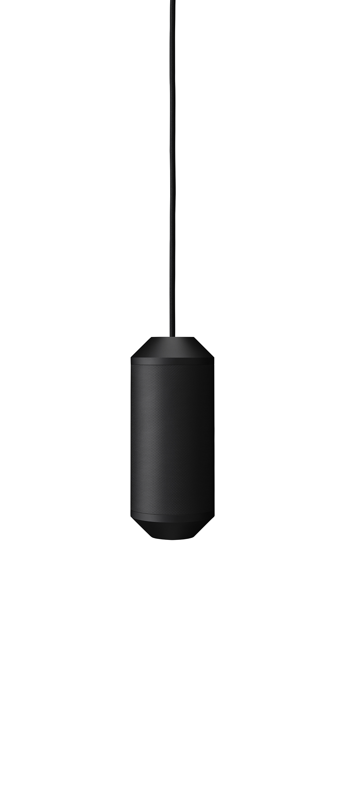 Lustra Backbeat, Ø10 cm, H23,5 cm, Black
