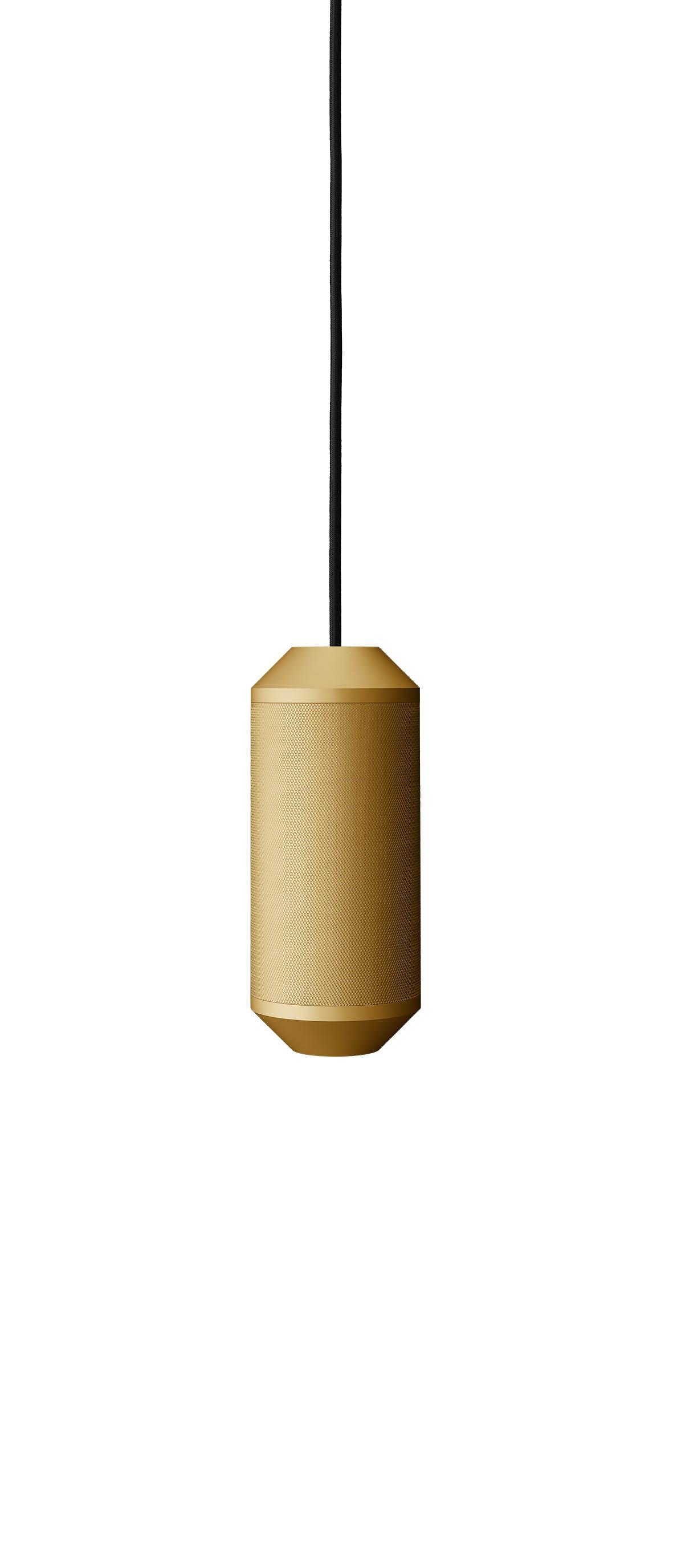 Lustra Backbeat O10 cm H235 cm Gold