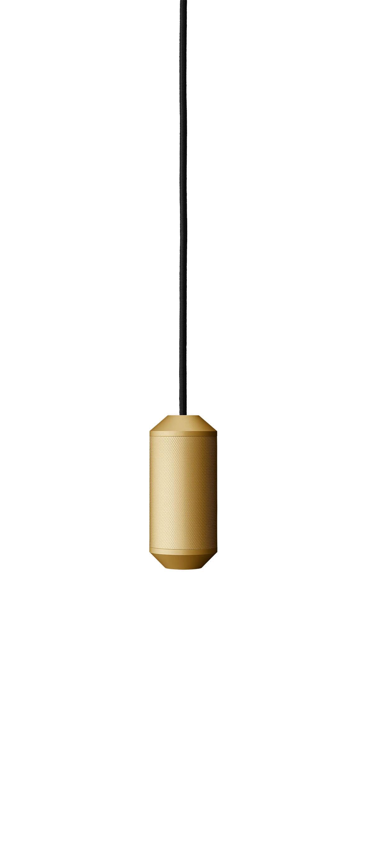 Lustra Backbeat, Ø6,5 cm, H14,5 cm, Gold