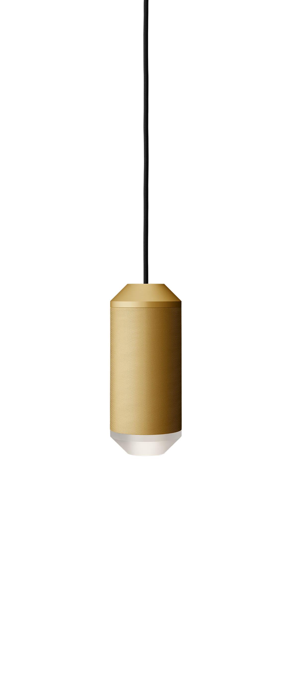Lustra Backbeat / Acrylic bottom, Ø10 cm, H23,5 cm, Gold