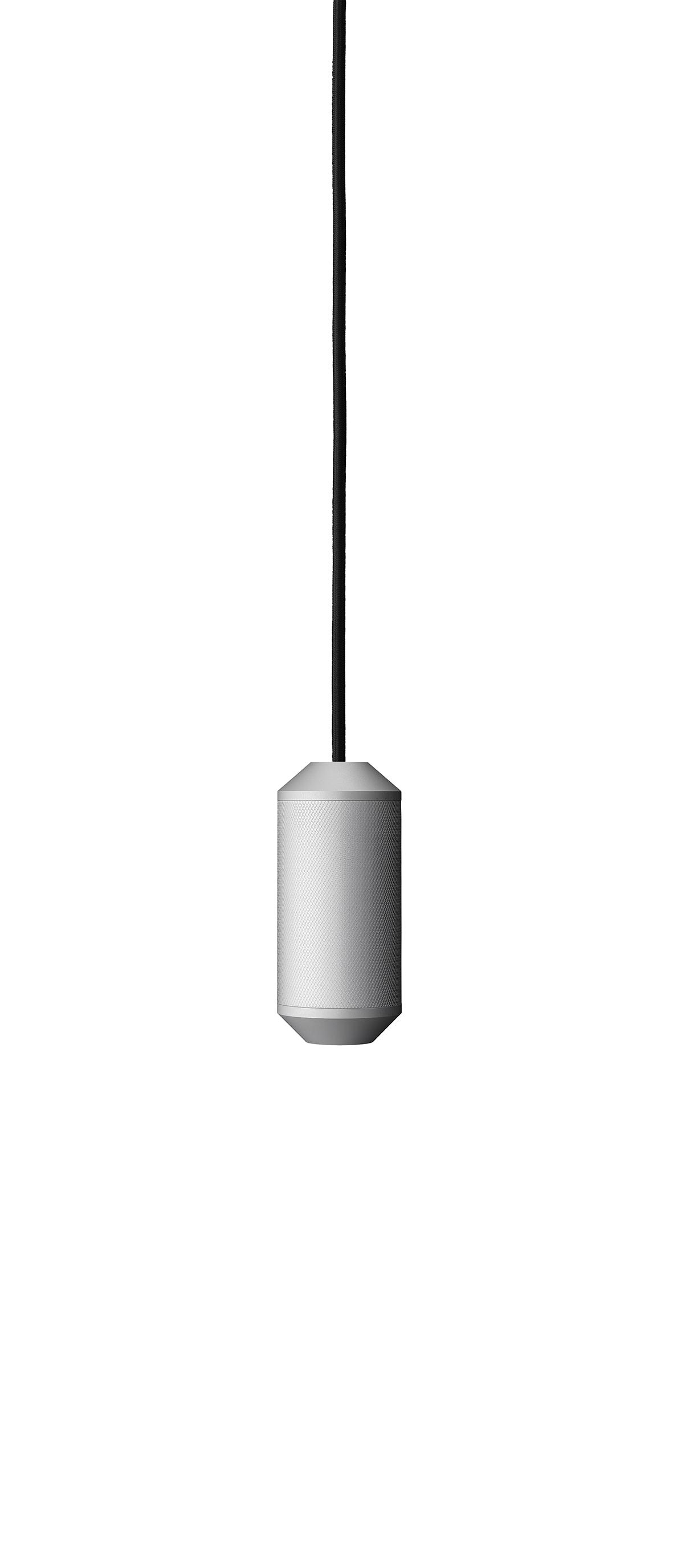 Lustra Backbeat O65 cm H145 cm Silver