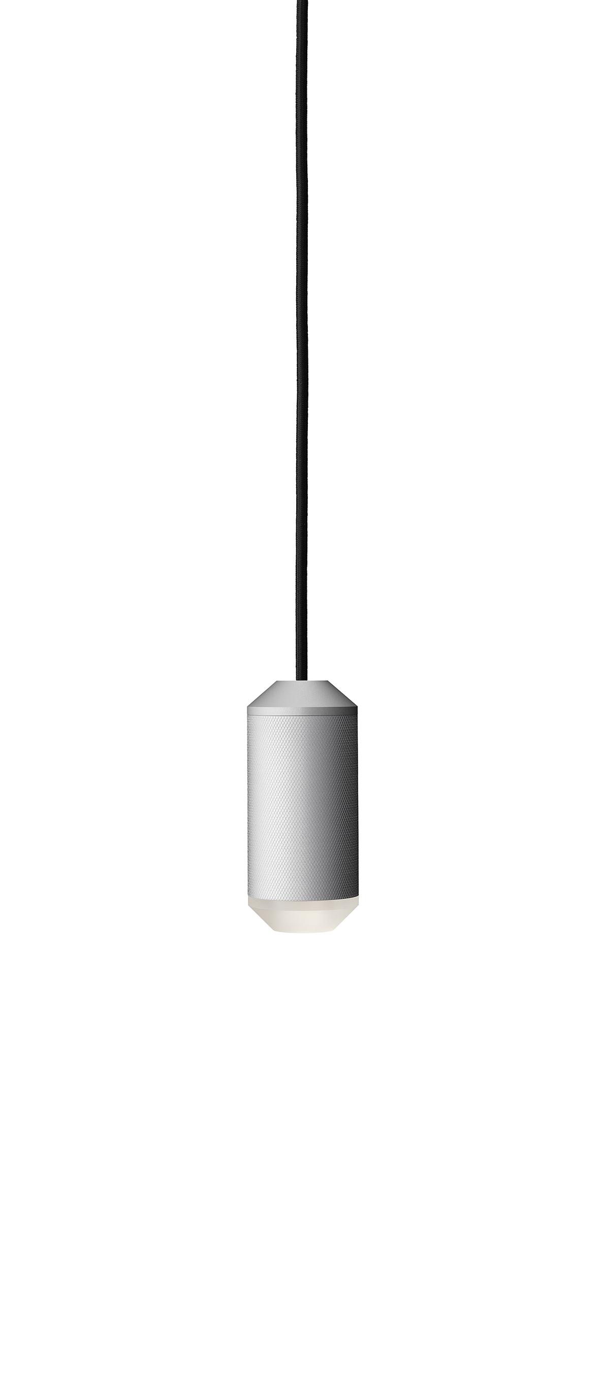 Lustra Backbeat / Acrylic bottom, Ø6,5 cm, H14,5 cm, Silver
