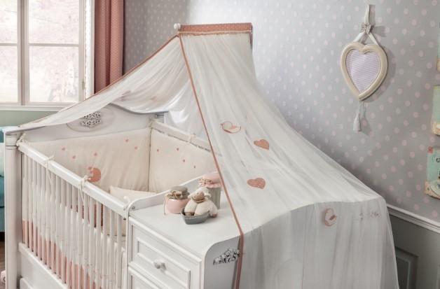 Baldachin Decorativ pentru patut, Romantic Baby imagine