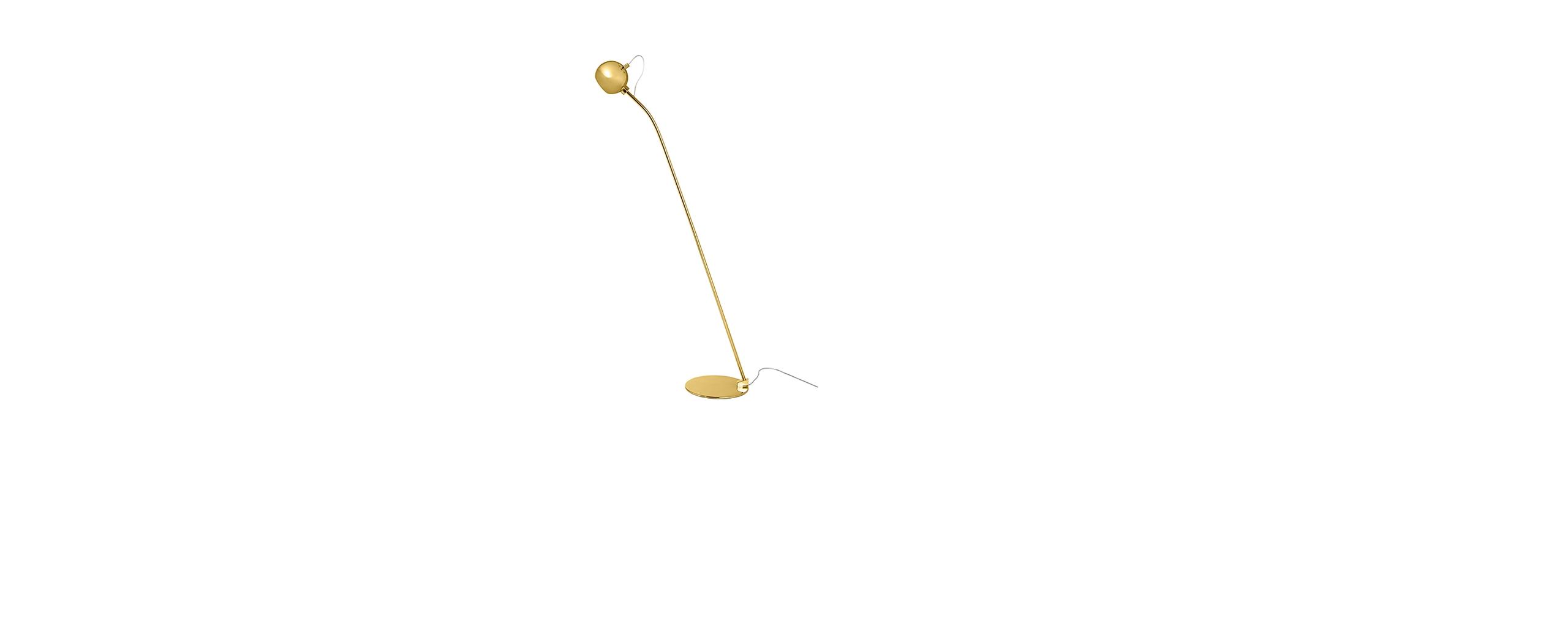 Lampadar Ball G9 Brass