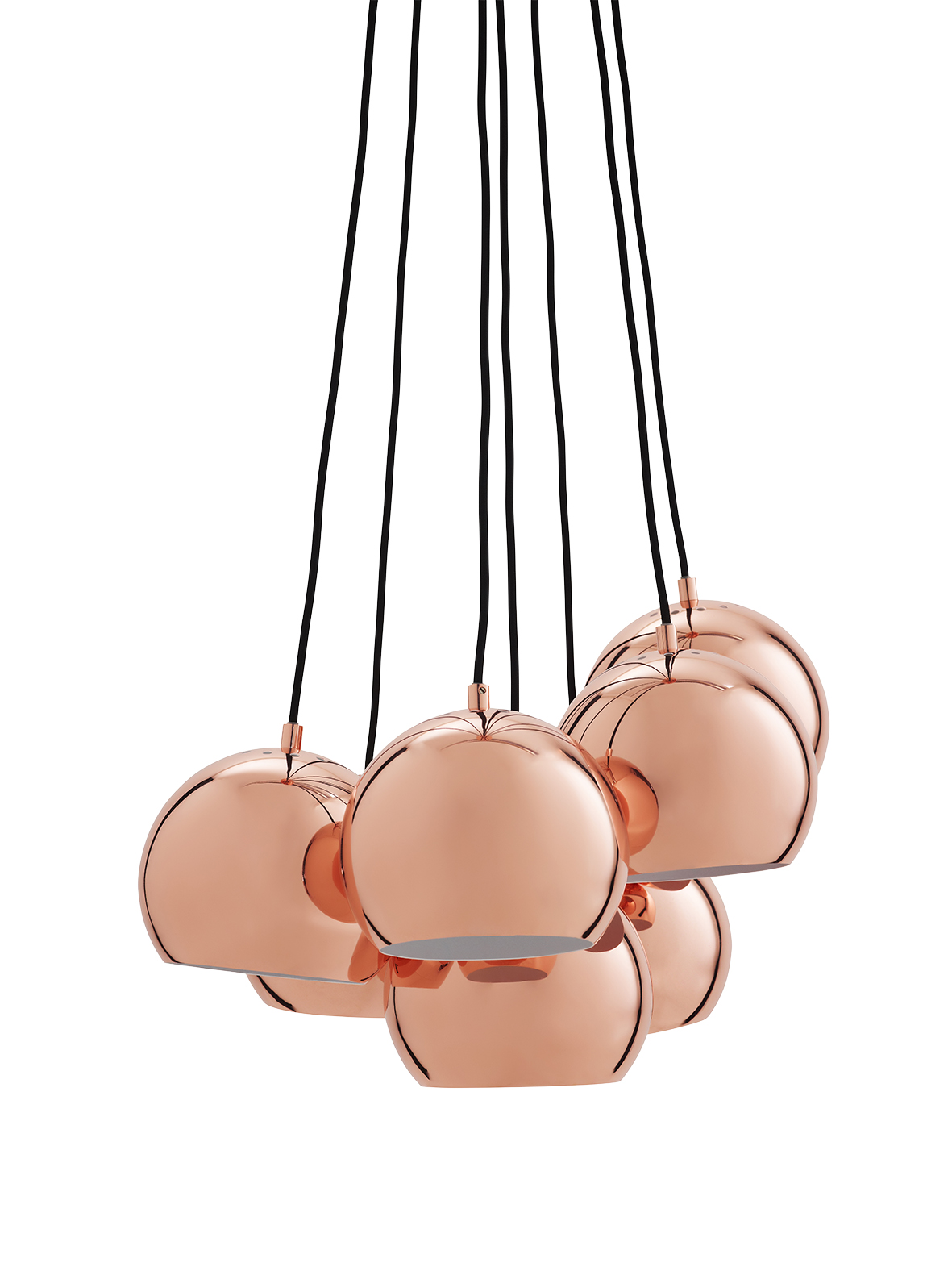 Lustra Ball Multi Copper Glossy