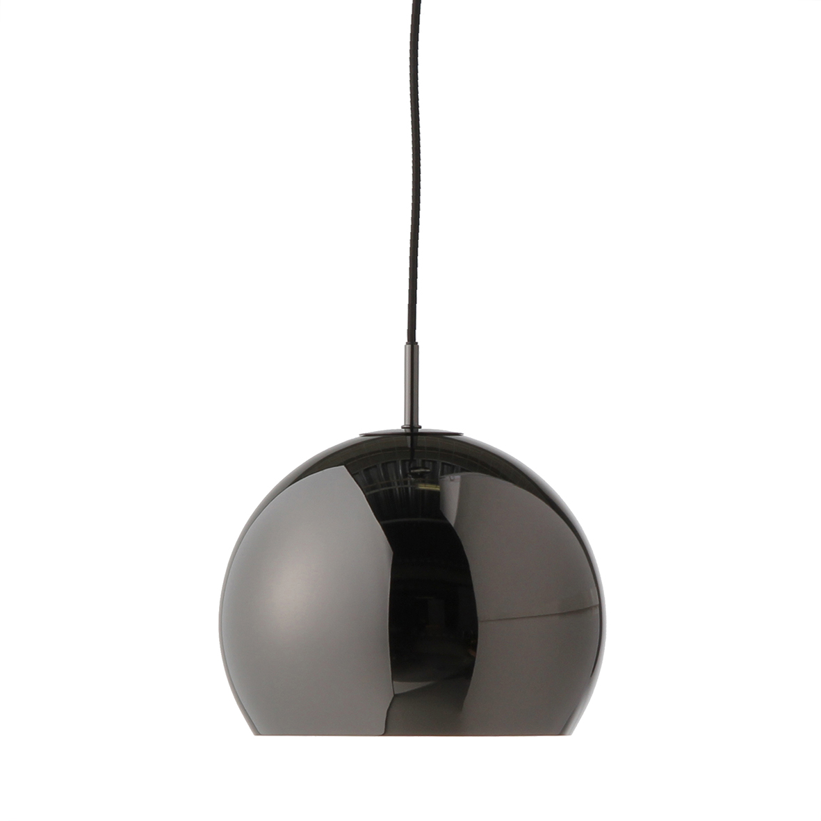 Lustra Ball Black Chrome Glossy  Ø 25 Cm