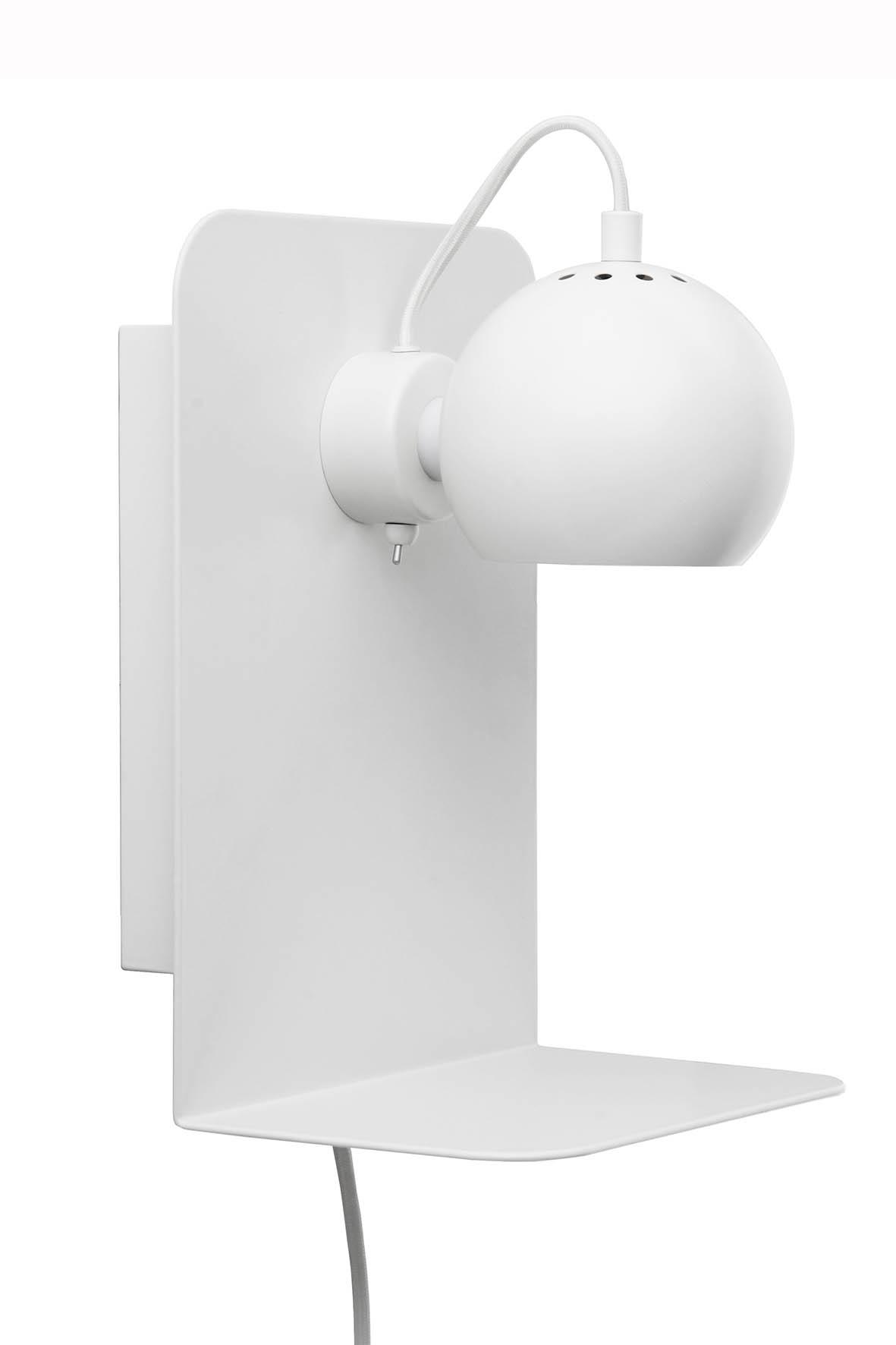 Aplica Ball Wall cu USB White