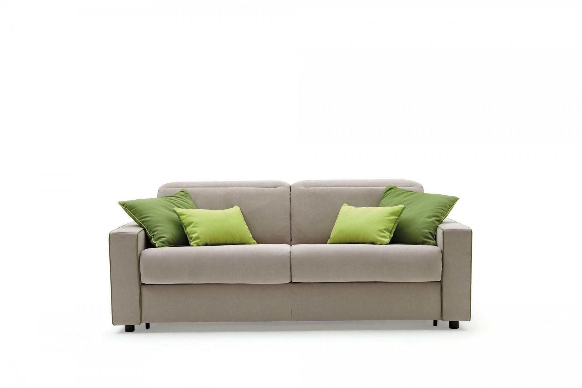 Canapea extensibila 3 locuri, tapitata cu stofa, Barbados l202xA102xH87 cm
