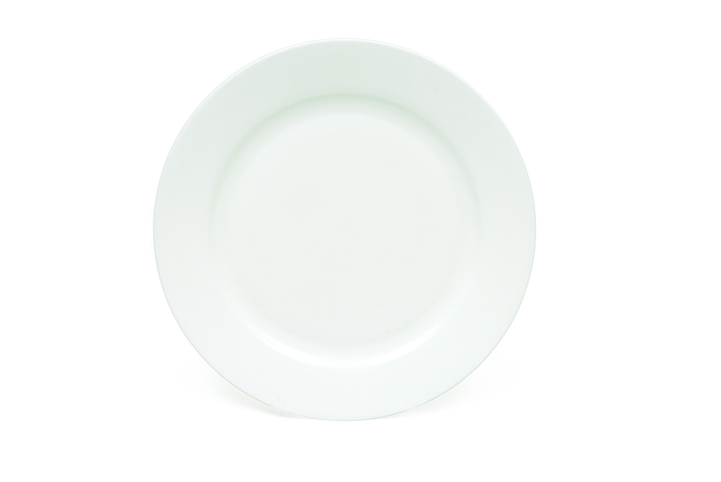 Set 6 Farfurii Cashmere Alb, Portelan, l30,5 cm