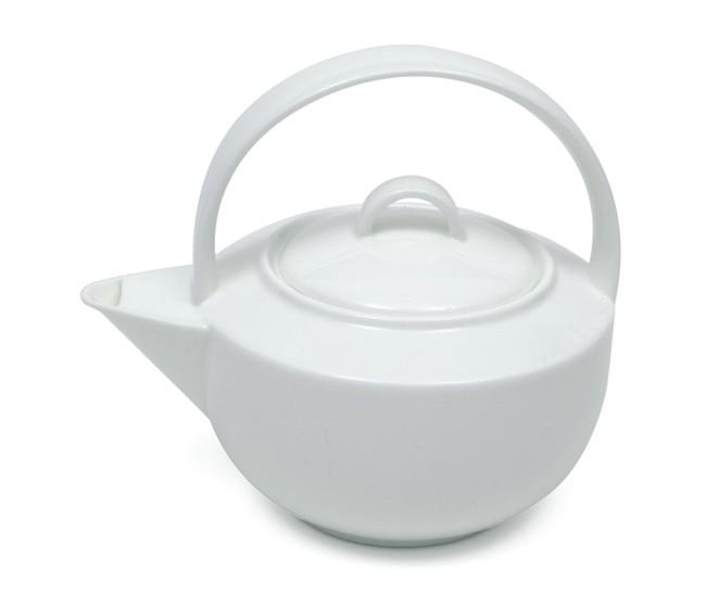 Ceainic Cashmere Teapot Alb, Portelan, 700 ml