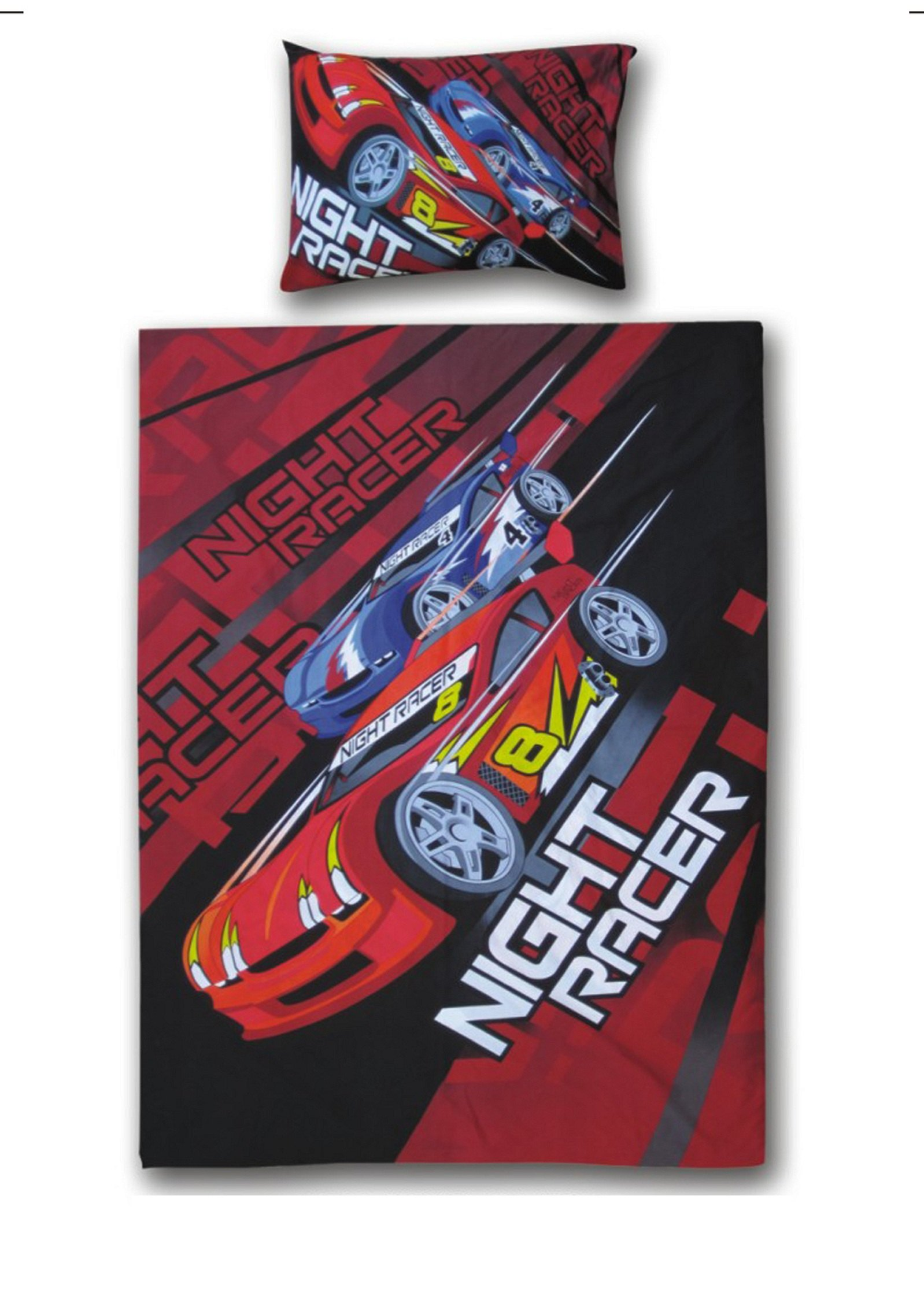 Lenjerie de pat copii Cotton Night Racer