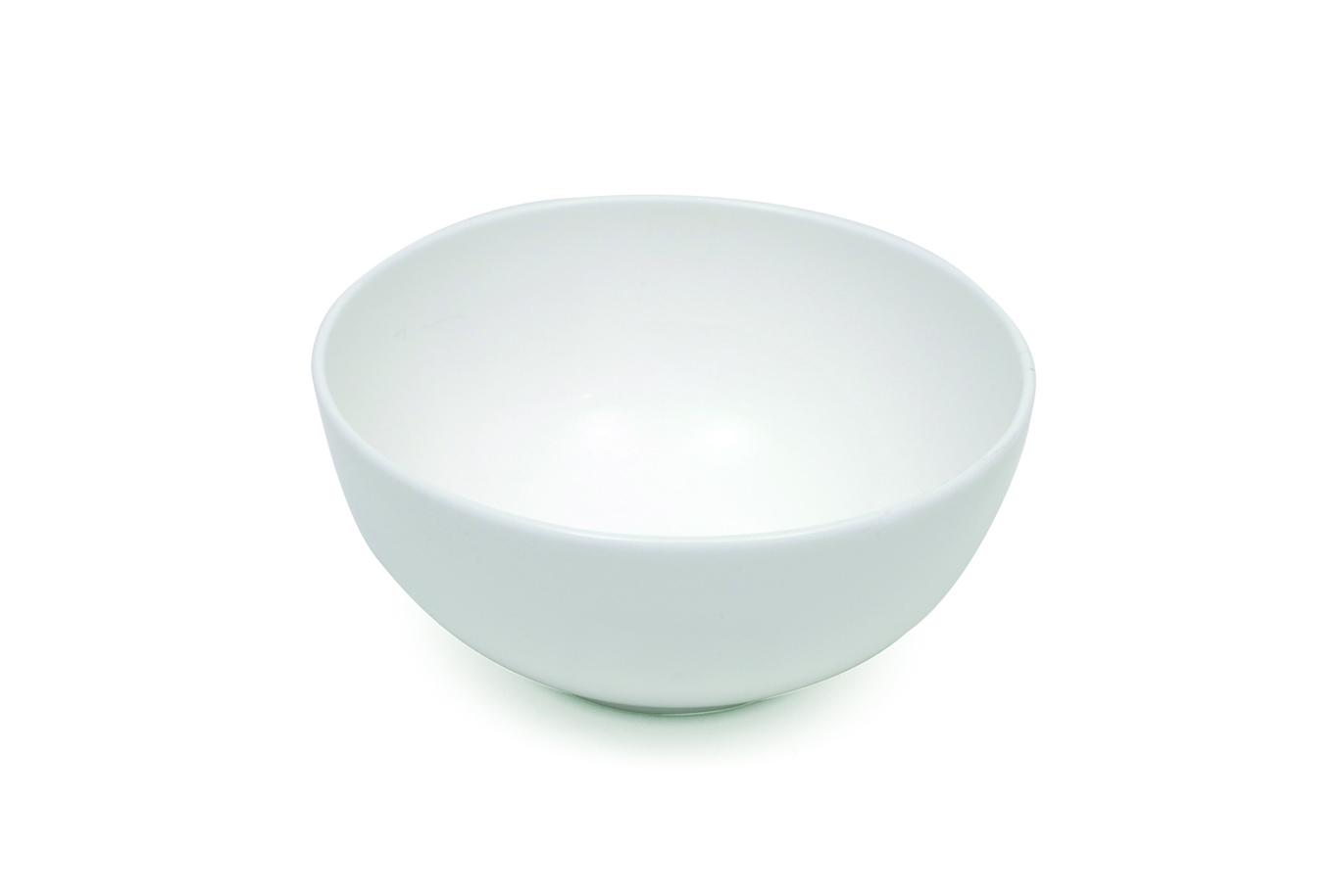 Set 6 Boluri Cashmere Rice Bowl Alb, Portelan, l12 cm