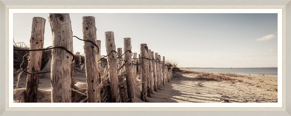 Tablou Framed Art Beach Fence II