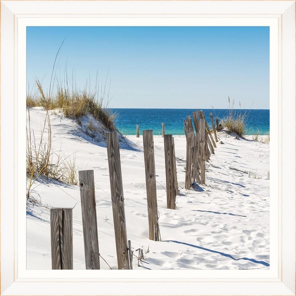 Tablou Framed Art Beach Fence