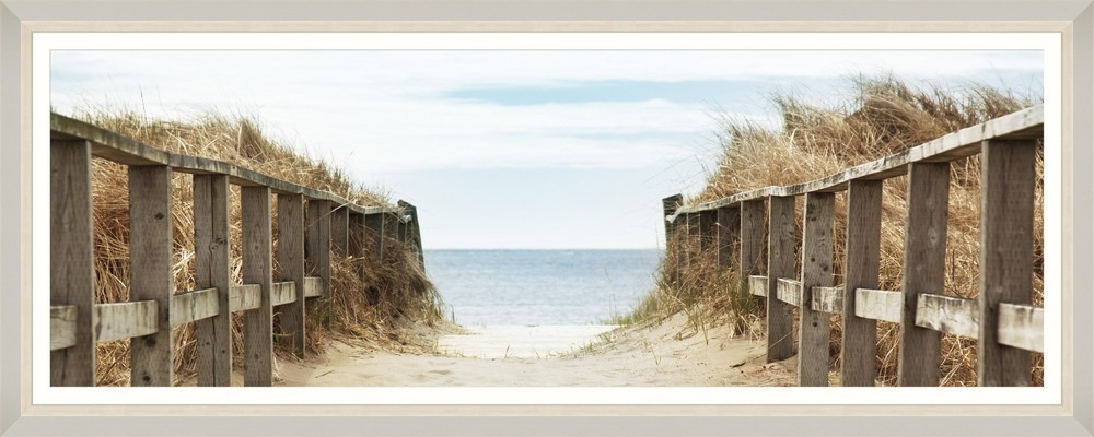 Tablou Framed Art Beach Path