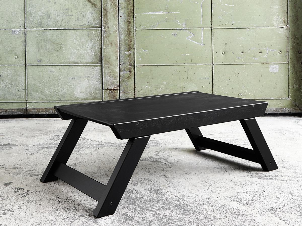Masa Bebop Black, L90xl50xh35 cm