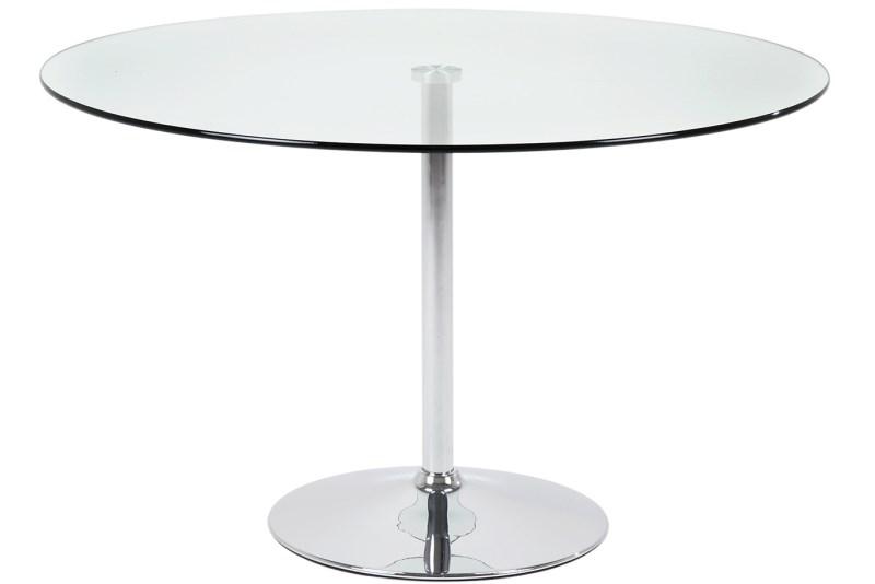 Masa din sticla Becky Round, Ø100xh75 cm