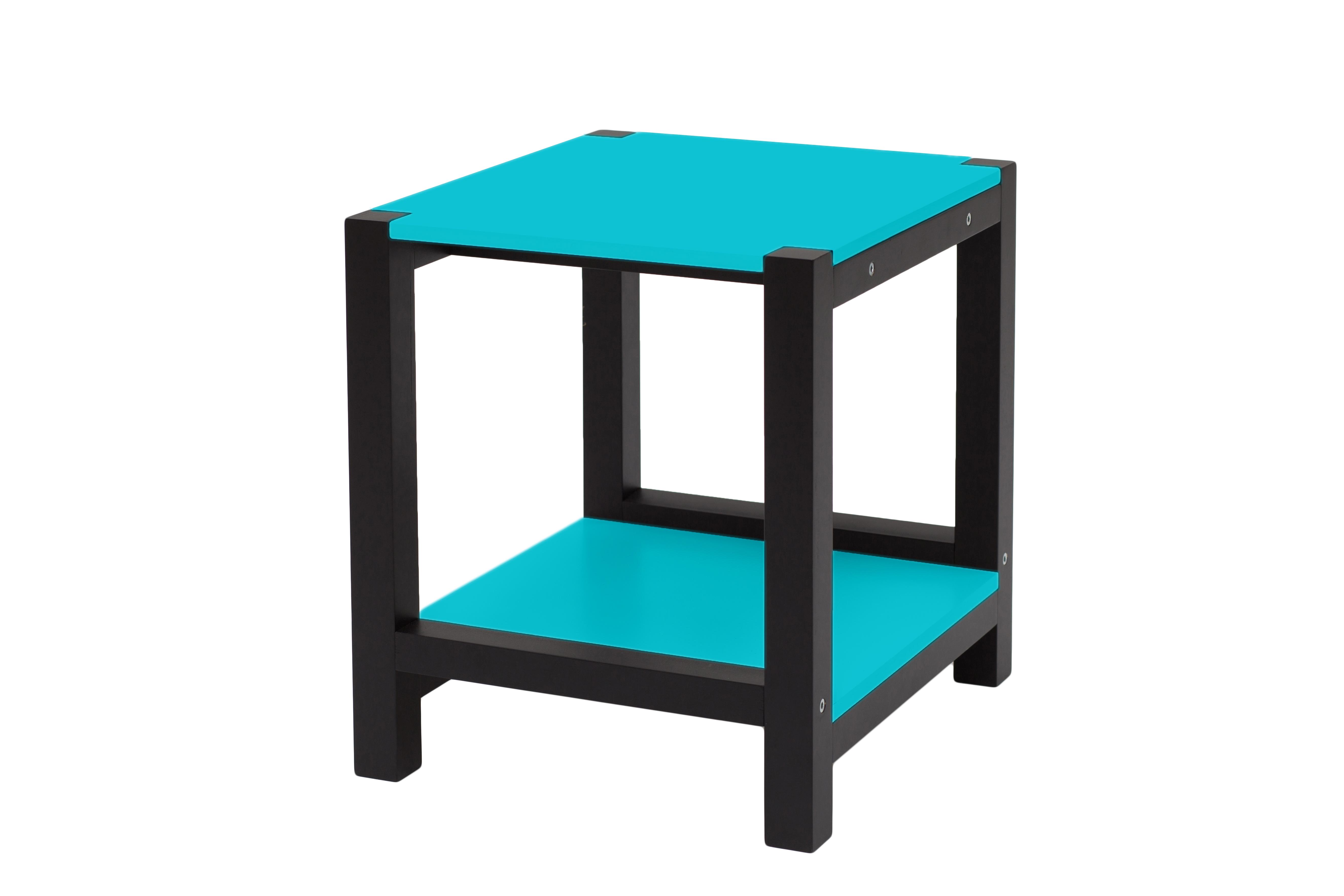 Masa de cafea Triventi Dark Turquoise L40xl40xh30 cm