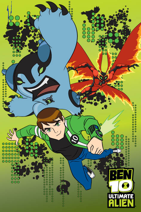 Covor Disney Kids Ben 10 72, Imprimat Digital