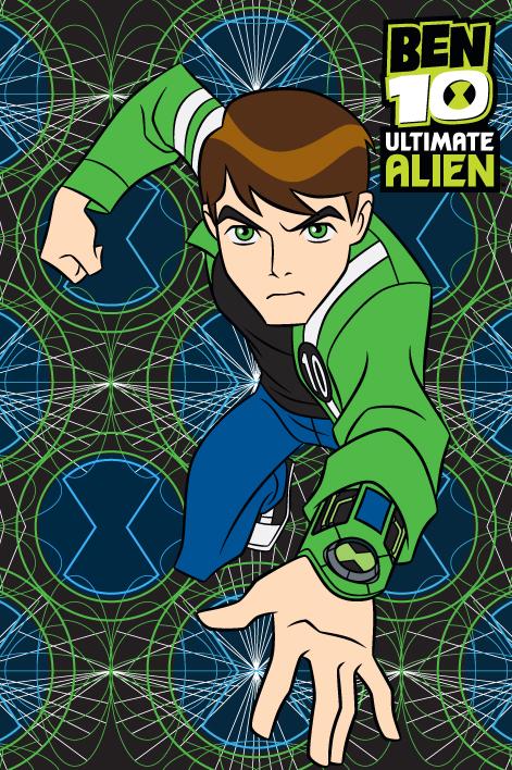 Covor Disney Kids Ben 10 Alien 73, Imprimat Digital