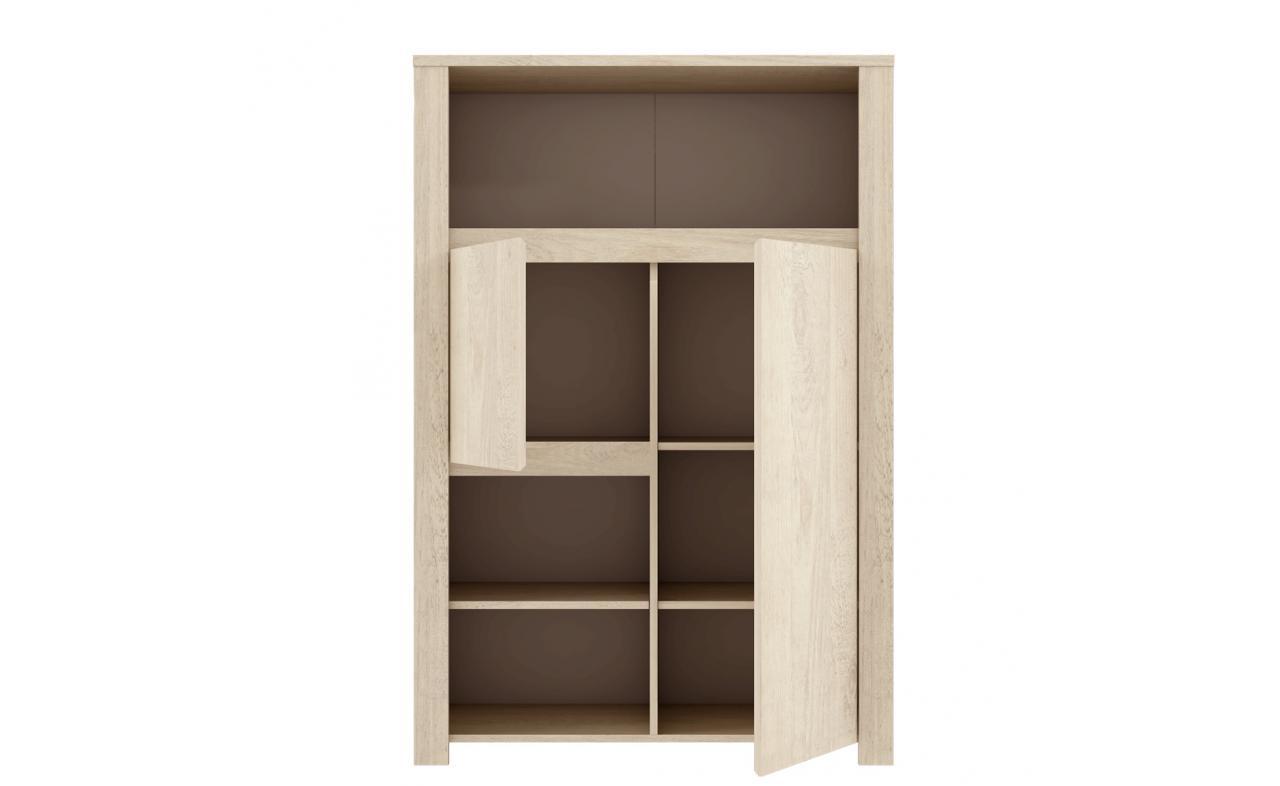 Biblioteca Large Erdezio, L93,4xl41,6xh138,3 cm