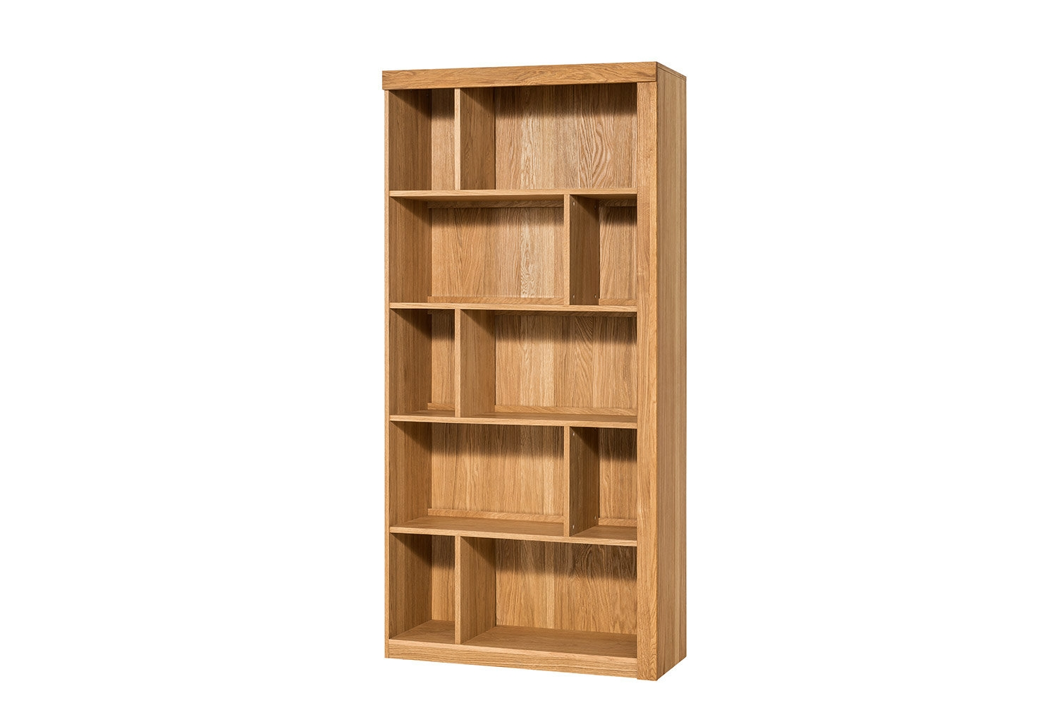 Biblioteca Lemn Stejar Furnir Velle Oak Poza