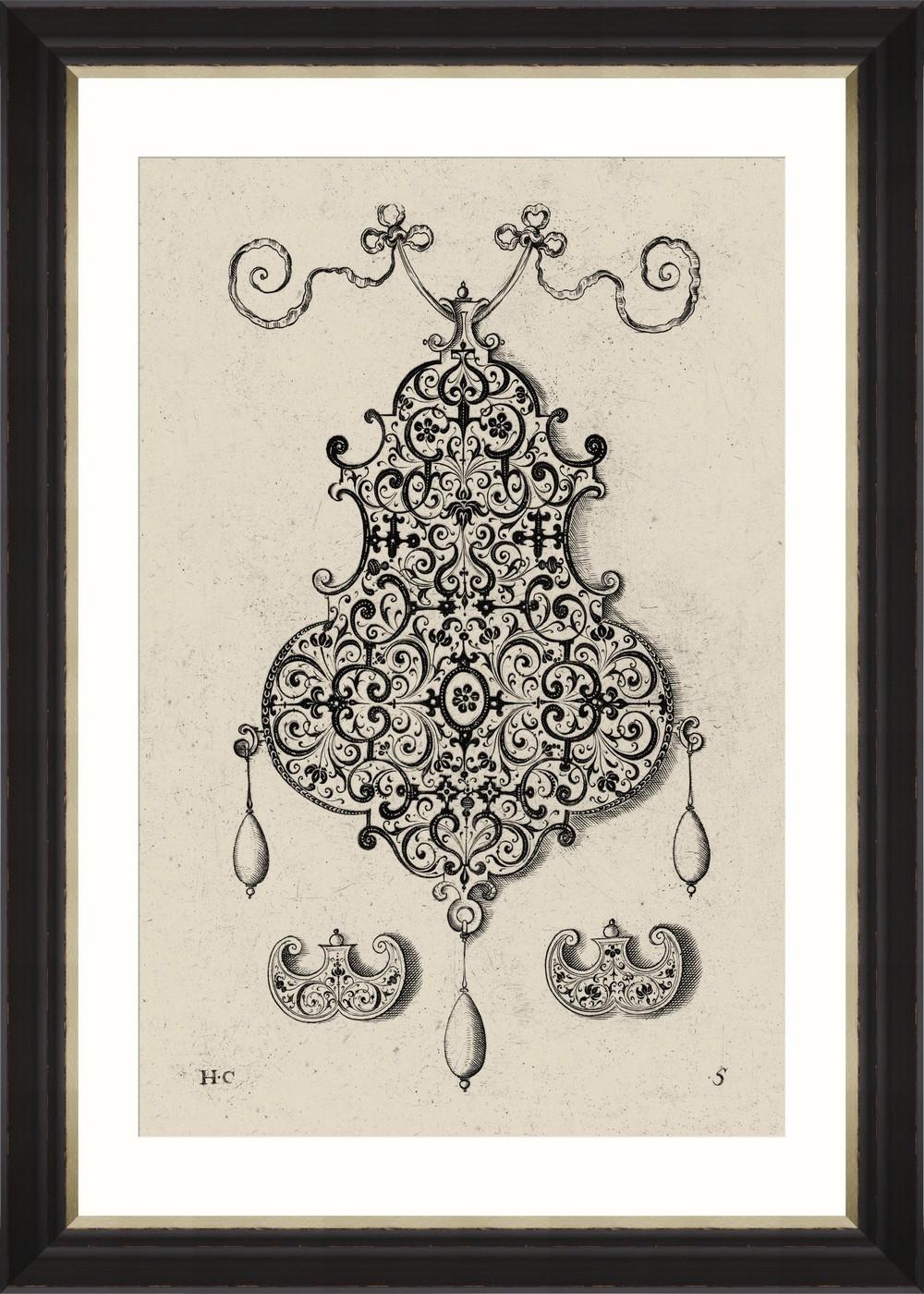 Tablou Framed Art Bijoux I