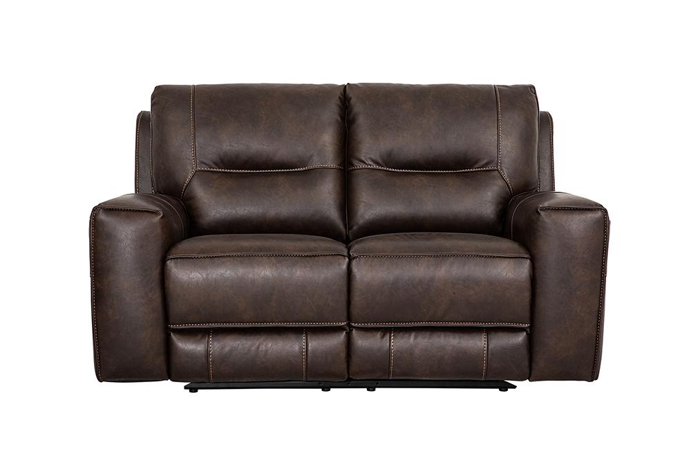 Canapea 2 locuri recliner Berkeley Brown