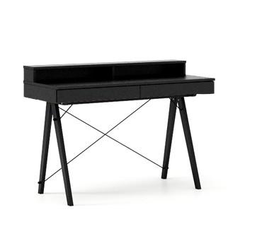 Masa de birou Basic Black, L100xl50xh85 cm