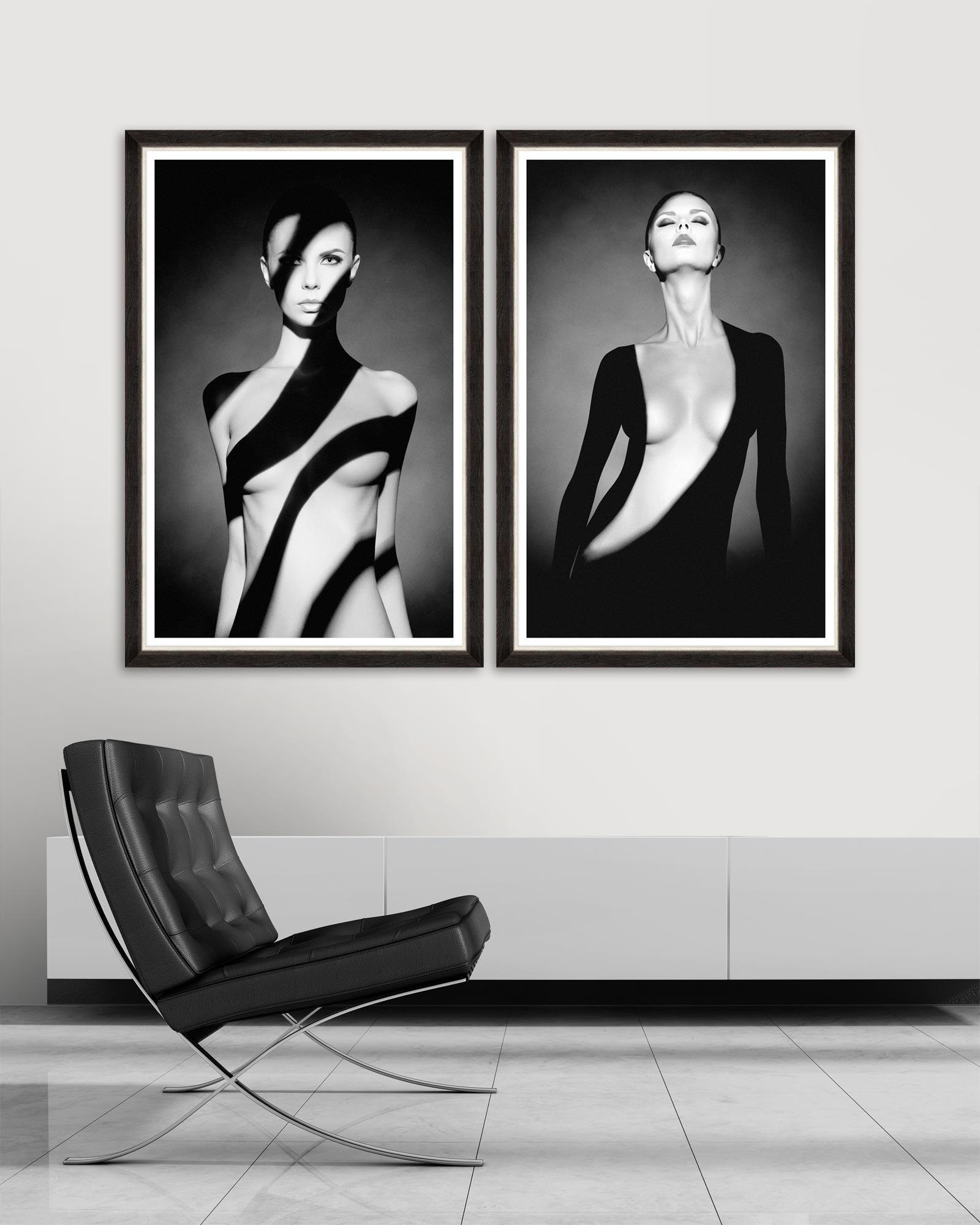 Tablou 2 piese Framed Art Body Shadows imagine