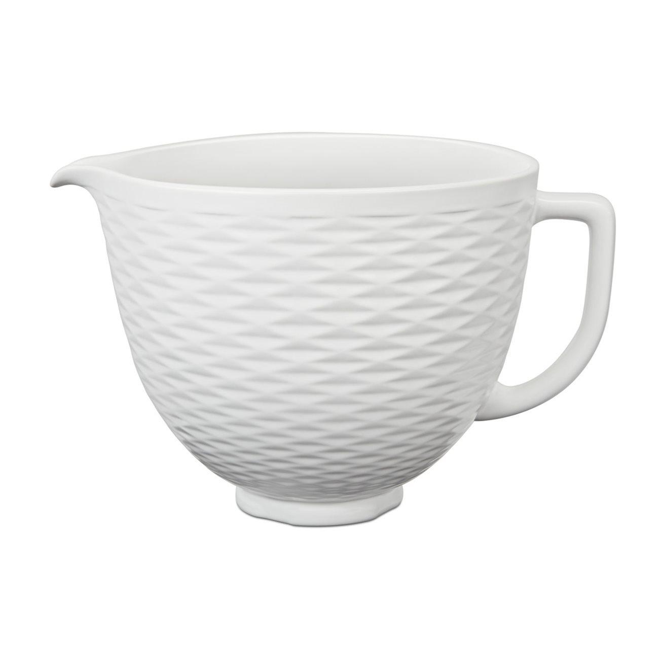 Bol din ceramica 5KSM2CB5TLW 48 L White KitchenAid