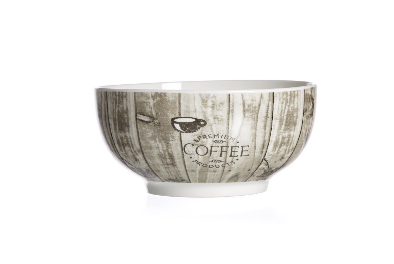 Set boluri cereale Coffee Rustico O 14 cm 6 piese