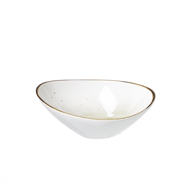 Set boluri ovale Cosmo Grey Via 18 x 15 cm 4 piese