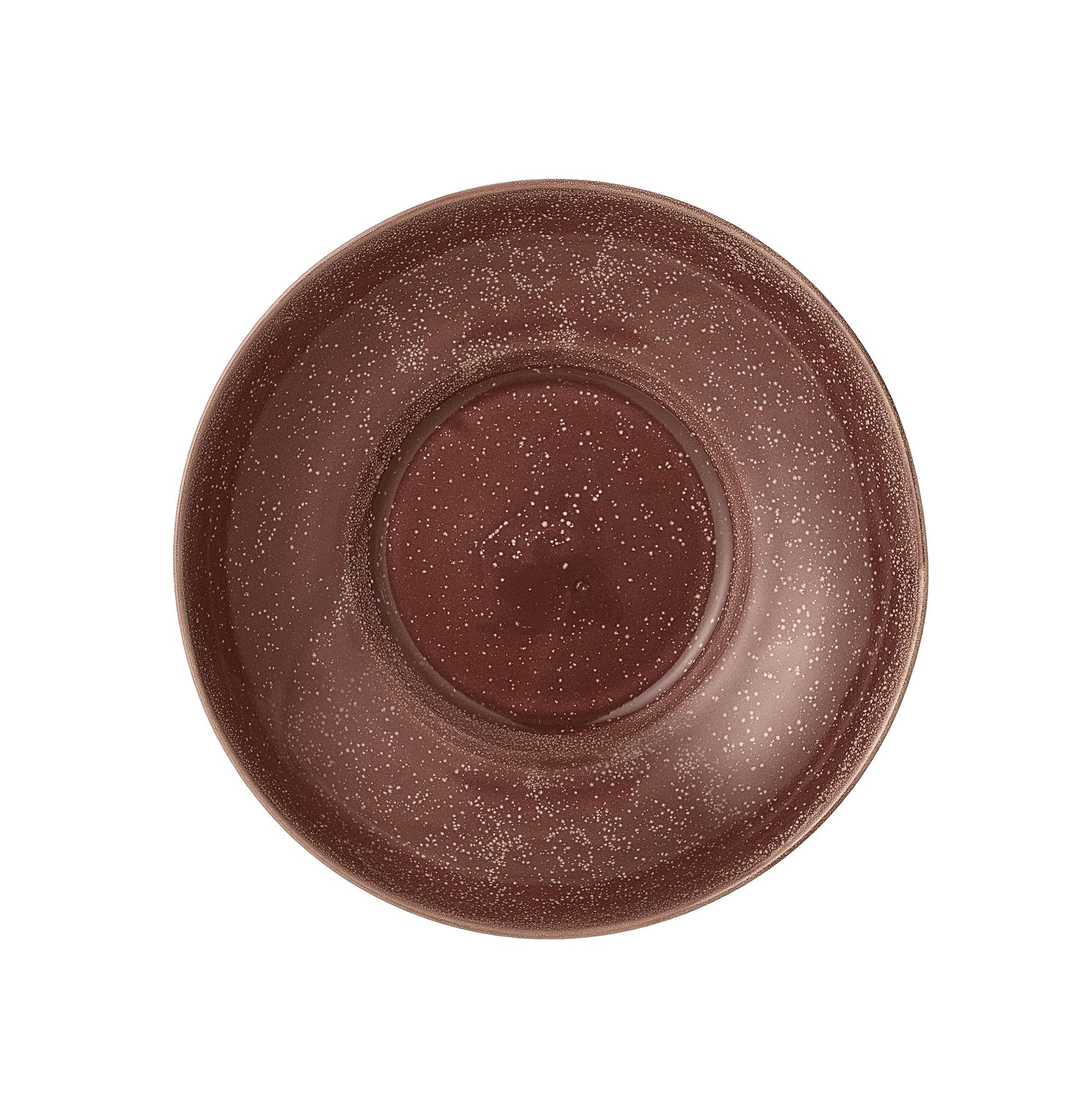 Bol pentru servire Joelle din ceramica Red O215xh6 cm