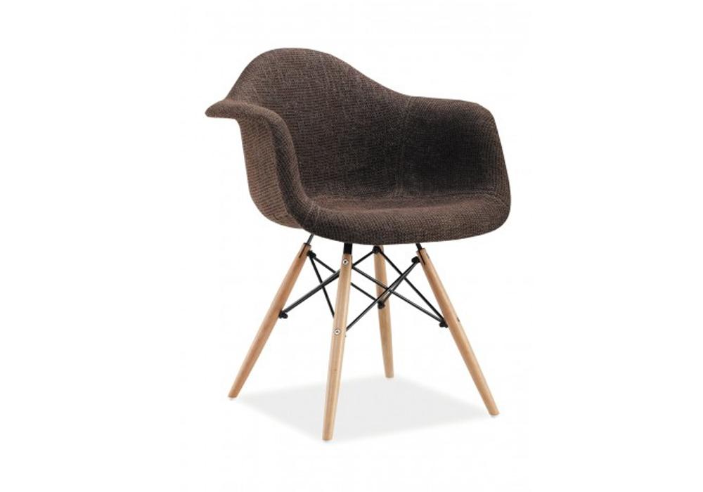 Scaun tapitat din lemn Bono Brown