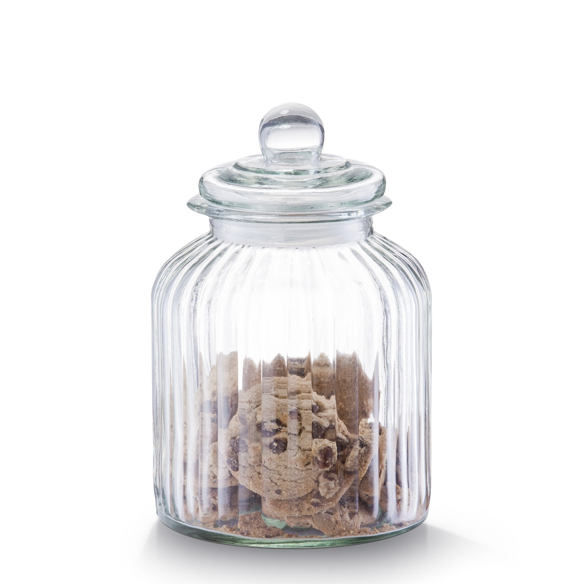 Borcan pentru depozitare din sticla Nostalgia, capac etans, 3800 ml, Ø 17,5xH26 cm imagine