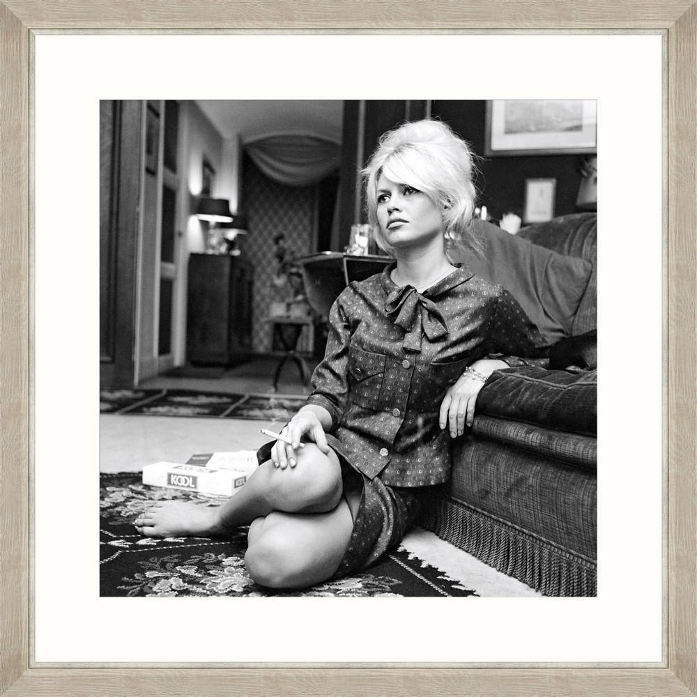 Tablou Framed Art Brigitte Bardot