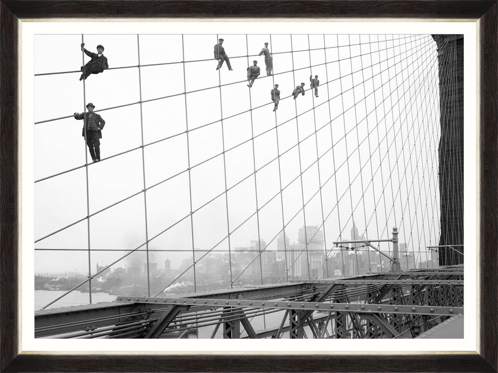 Tablou Framed Art Brooklyn Bridge Painters