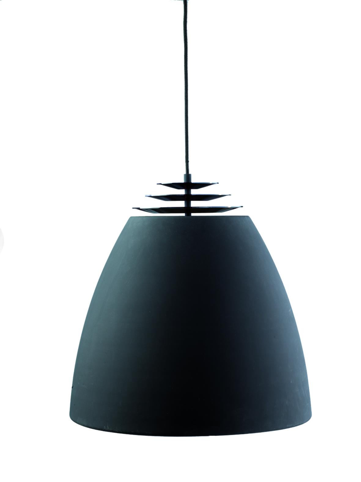 Lustra Bristol Buzz Black Matt, Ø 30 cm