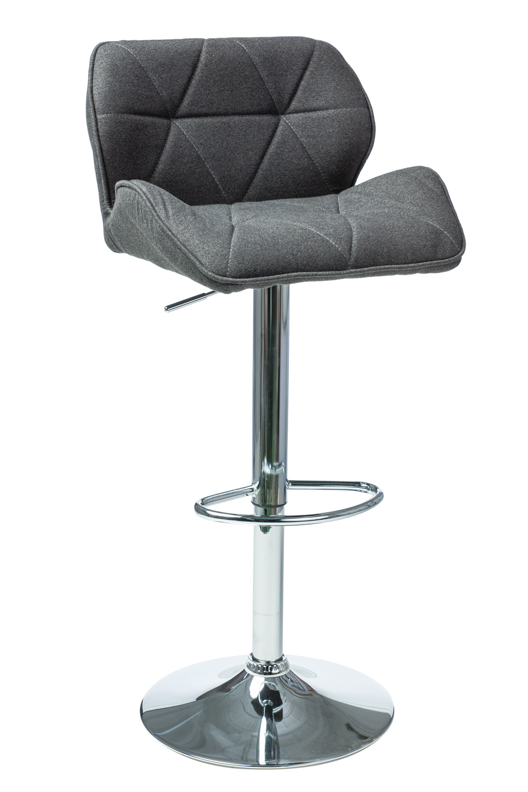 Scaun de bar C-122 Dark Grey