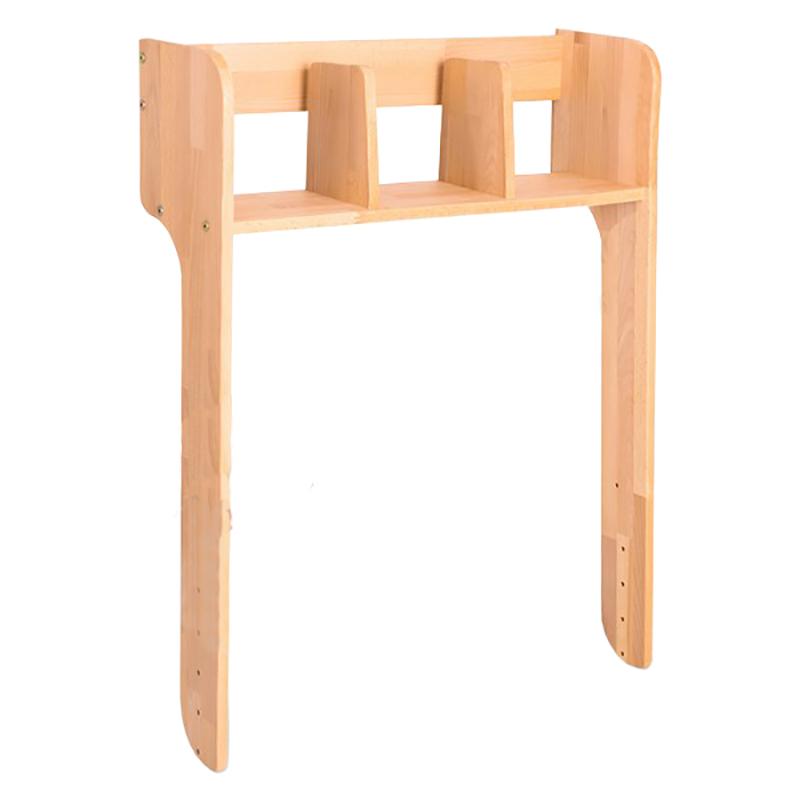 Etajera din lemn de fag, Ecodesk, L74xl24h99,5 cm