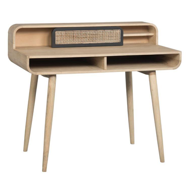 Masa de birou Canne Contemporain, L110xl60xh93 cm