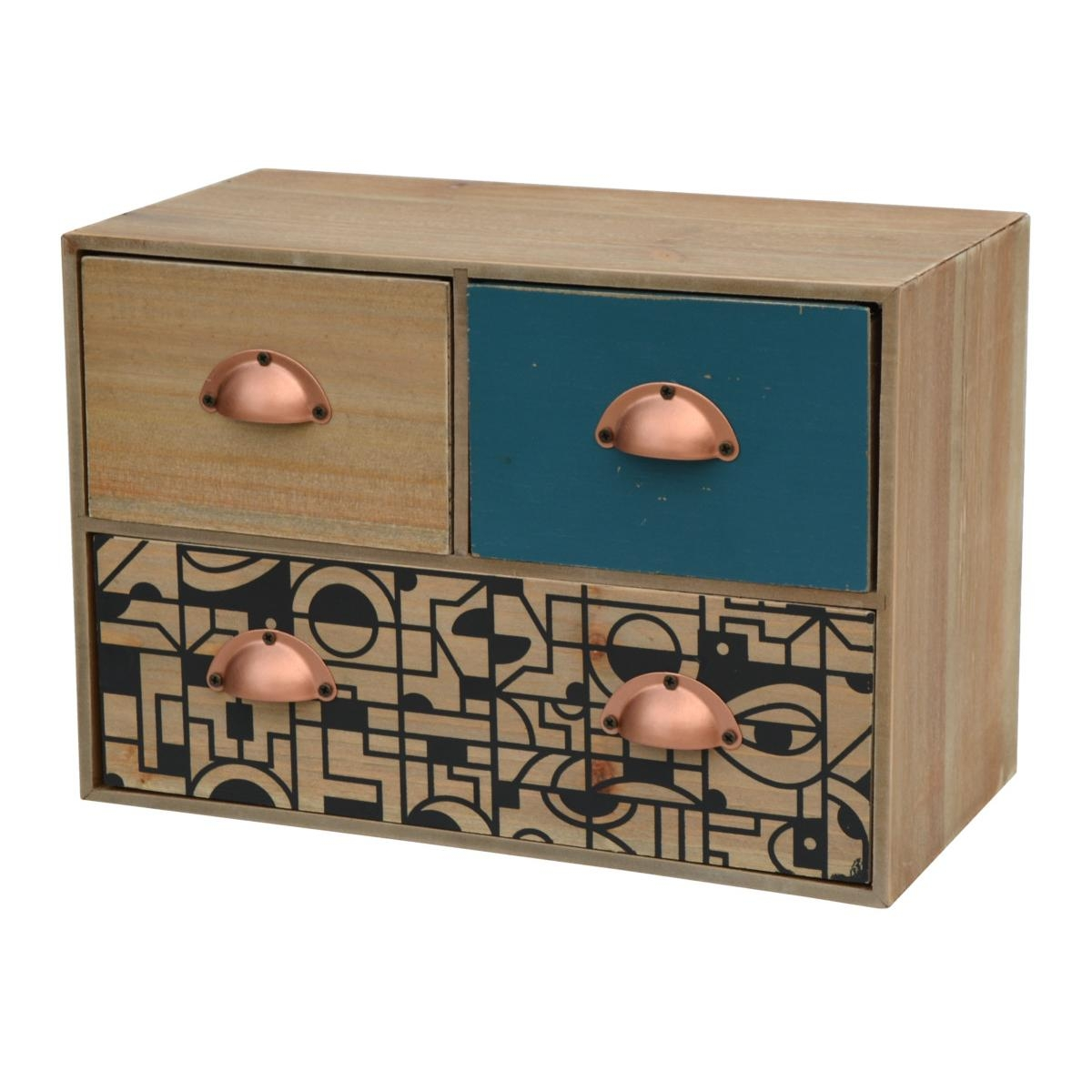 Cabinet din lemn de brad, Portofino F031