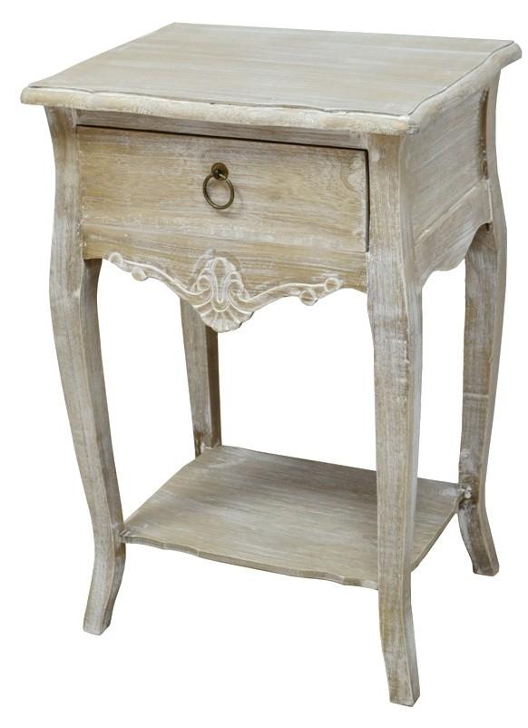 Cabinet din lemn de plop furnir si MDF cu 1 sertar Merano ME019B Light Brown l47xA36xH70 cm