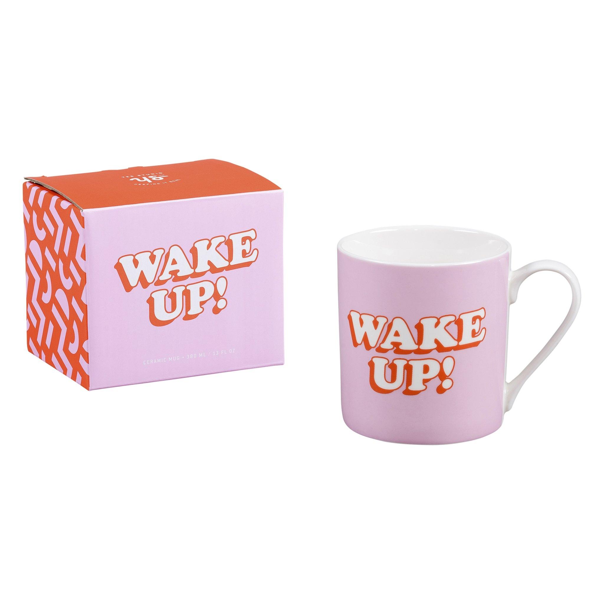 Cana ceramica Wake Up YST105, 380 ml, Wild & Wolf