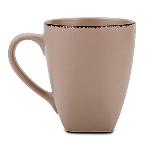 Cana din ceramica Brown Sugar Maro, 400 ml poza