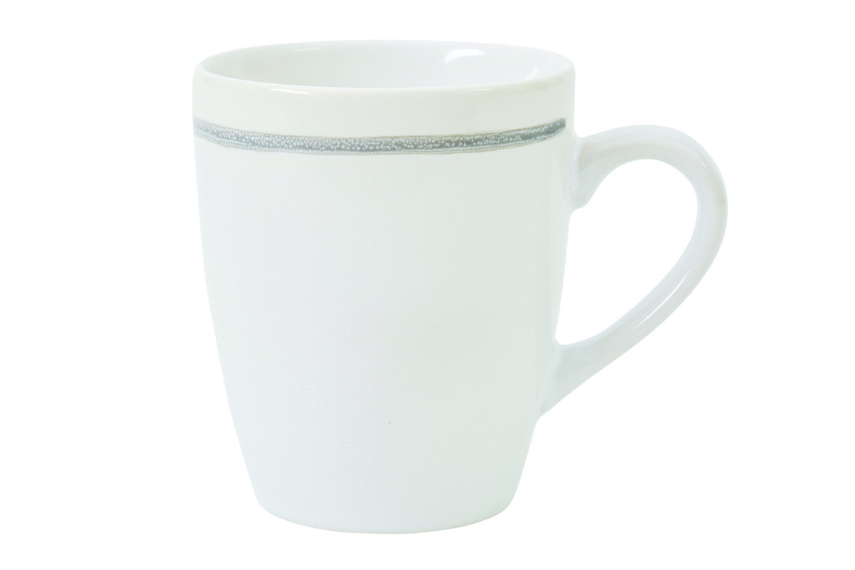 Set cani Patine Stoneware, White, 400 ml, Jamie Oliver, 6 piese imagine